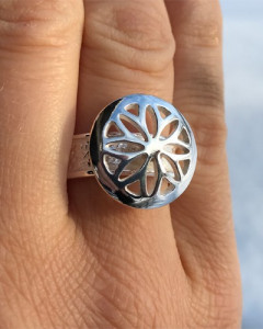 Fingerring Sunwheel