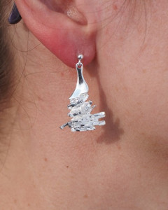 Earrings Northern light