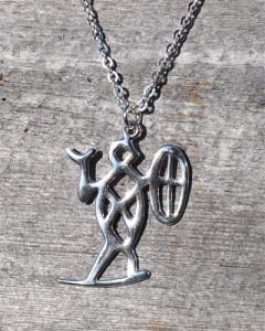 Schaman nr. 35 med 60 cm Chain