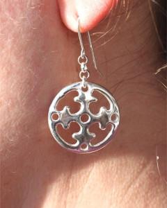 Earrings Sunwheel