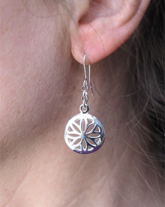 Earrings Sunwheel