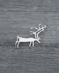 Rockcarving of a reindeer