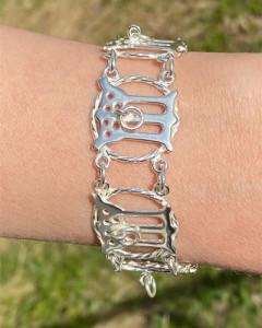 Armband Gotischer Buchstabe