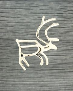 Shaman drum figures, reindeer