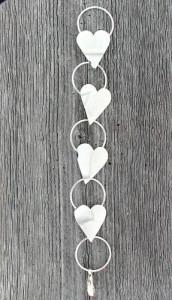 Armbånd med hjerter og ringer