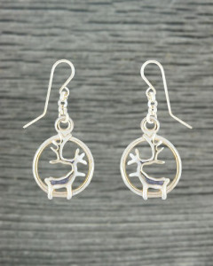 Earrings reindeer