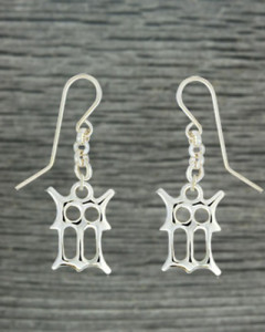 Earrings Gotic letters