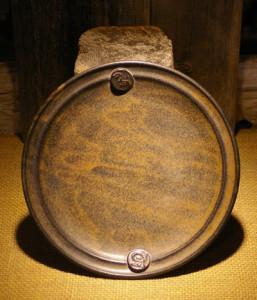 Tana plate brown