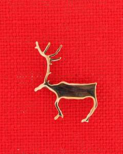 Rockcarving reindeer