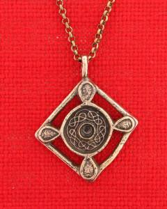 Anhänger aus Bronze der Merovingerzeit