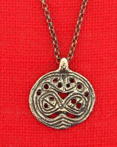 Anhänger aus Bronze der Wikingerzeit