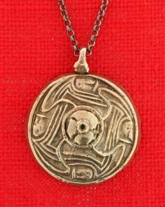 Pendant from Merovingian time