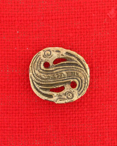 Brooch from Merovingian period