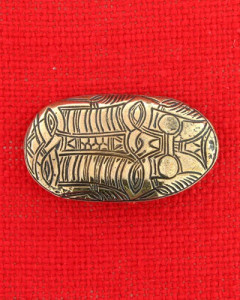 Brooch from Merovingian period