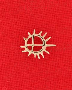 Samisk inspirert solbrosje nr. 135